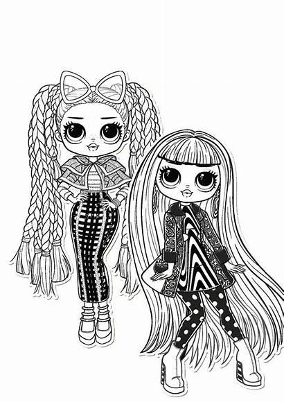 Lol Omg Coloring Pages Doll Ausmalbilder Surprise