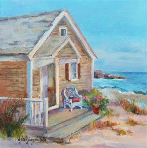 The Cottage Painting by Deanna S Paintings Cottage Painting House