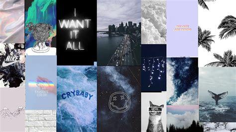 grunge blue aesthetic laptop wallpapers