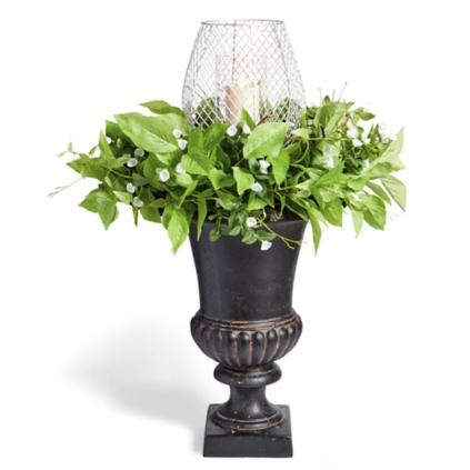 spring lantern urn filler grandin road