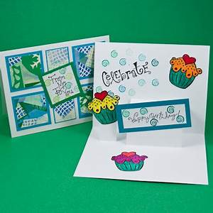 Simple pop up card tutorial pop up card how to make