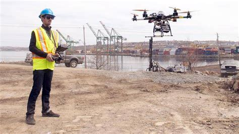 drones  construction newells projects