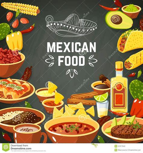 chapeau cuisine food illustration stock vector image 51917944