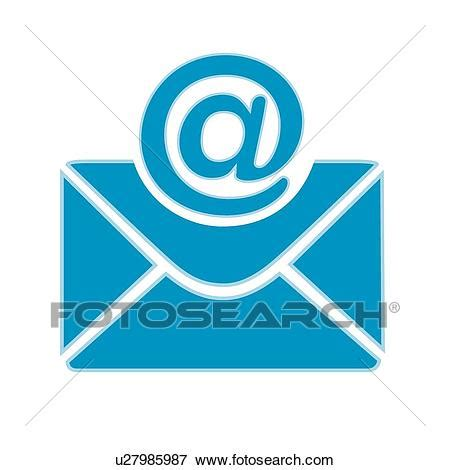 11478 mail letter clipart clip of symbols icons e mail letters letter e