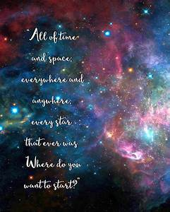 Doodlecraft: Doctor Who Galaxy Quote Freebie!