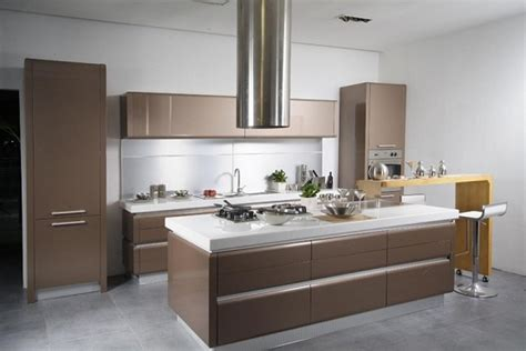 Contemporary Kitchen Design With Smart Concept  Home