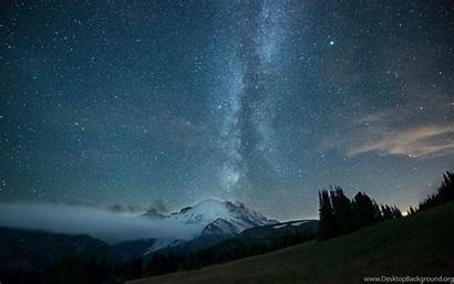 Sky Stars Pc Night Desktop Wallpapers Background