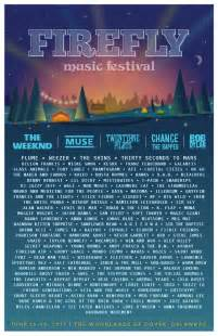 Halloween Busta Rhymes by Firefly 2017 Lineup Bob Dylan Muse Weezer Chance The