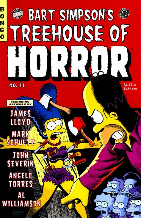 Bart Simpson's Treehouse Of Horror 11  Simpsons Wiki