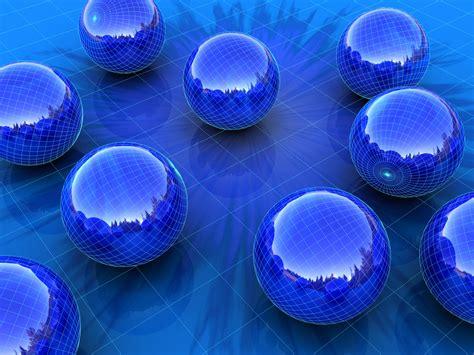 3d Wallpapers Blue by Blue Spheres Wallpaper 3d Models 3d Wallpapers In Jpg
