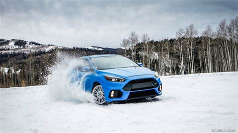 Dfsk Supercab 4k Wallpapers by 2016 Ford Focus Rs In Snow Front Hd Wallpaper 147