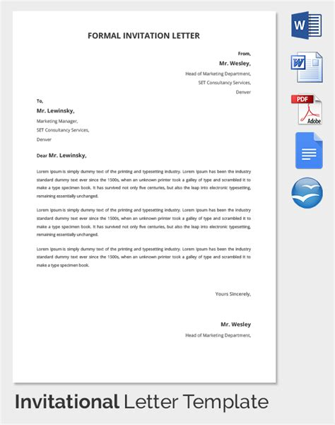 free wedding sles official invitation letter for new office opening ceremony