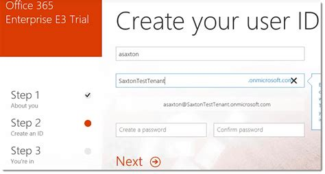 Office 365 Portal Trial by How To Create A Trial Tenant In Office 365 блог по