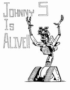 mike sgier movie illustrations project ongoing With to short circuit