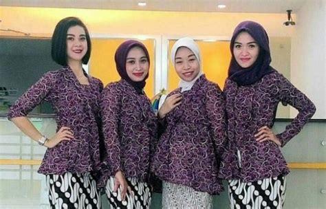 model baju batik terbaru   trends wikipie