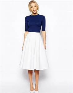18 Work Outfits Every Working Woman Should Have | White midi skirt Crepes and Working woman