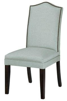 camel back parsons chair with nailhead trim dining