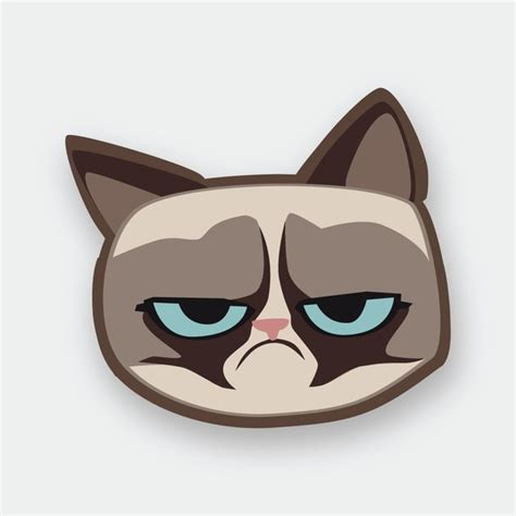 Grumpmoji Grumpy Cat Stickers On The App Store