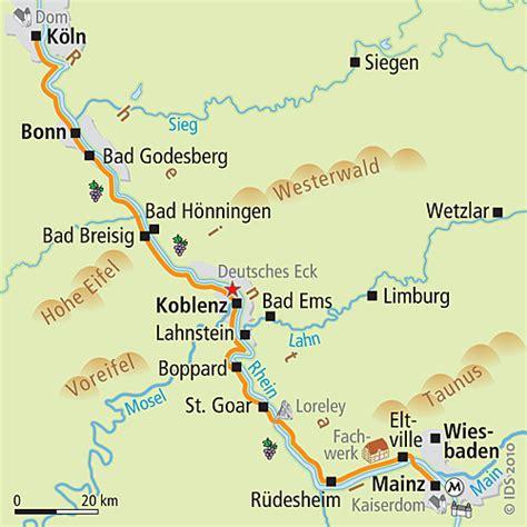 Rhein Radweg Karte Online