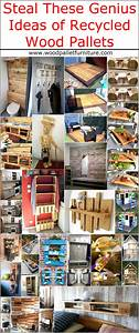 Steal These Genius Ideas of Recycled Wood Pallets | Wood ...