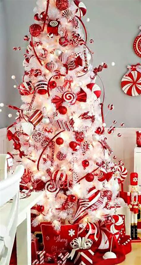 pictures of decorated christmas trees white christmas theme 22 wonderful christmas tree ideas home design and interior