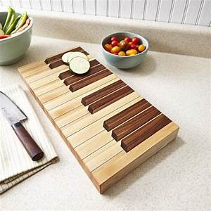 Keyboard Cutting Board Downloadable Plan WOOD Magazine