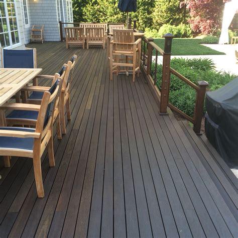 mahogany deck oiled  penofin dicks decks