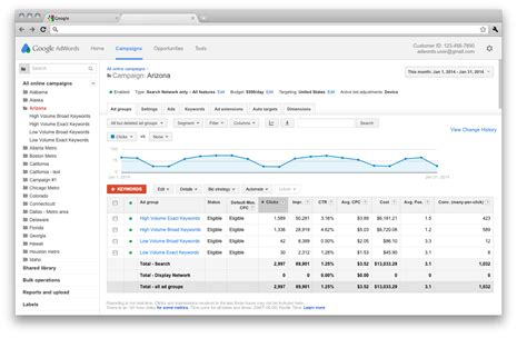 google redesigns adwords  match   web apps