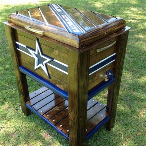 ice chest cooler ideas  pinterest ice chest ideas wooden ice chest  deck cooler
