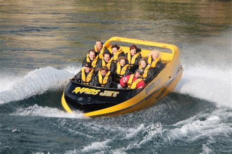 Whitewater Jet Boat by White Water Jet Boat Thrills On Waikato River Taupo