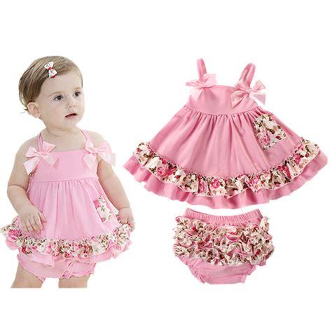 2017 Summer Baby Clothing Newborn Baby Girl Clothes Dress Infant Sling Bat Roupas Body Bebes ...