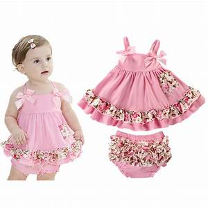 Aliexpress.com : Buy 2017 Baby Girl Clothes Summer Newborn ...