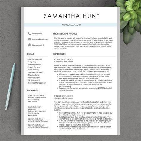do you number resume pages
