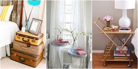 nightstand ideas unique bedside tables