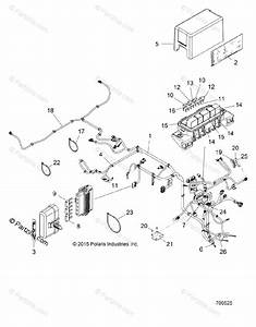 Polaris Side By Side 2017 Oem Parts Diagram For Electrical