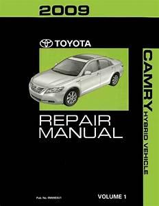 Ebay  Sponsored 2009 Toyota Camry Hybrid Shop Service