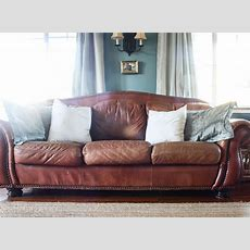 Spray Paint For Leather Sofa Chalk Paint On Leather The