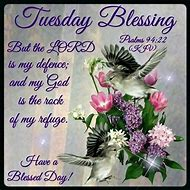 Tuesday Blessings Scripture