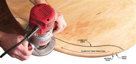 tips  beating router tear  popular woodworking