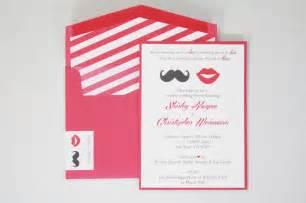 coed wedding shower co ed bridal shower invitations mustache
