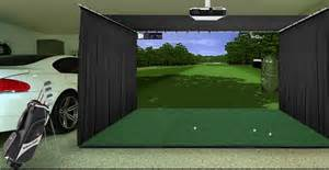 Outdoor Carpet Putting Green by Gsa Advanced Golf Simulators Enclosures