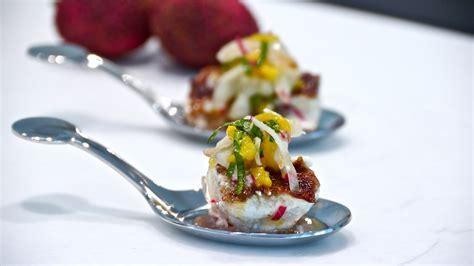 cheeks grouper lychee tamarind