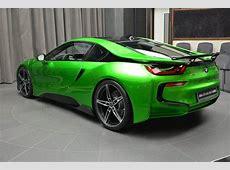 BMW i8 Wearing Bespoke Lava Green Exterior & AC Schnitzer Aero