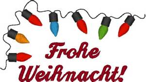 merry in german embroidery design