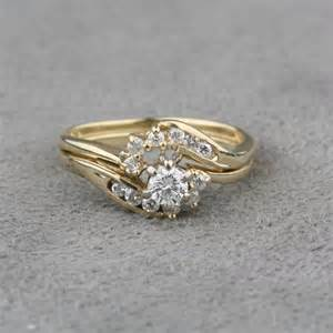 selling wedding ring pre owned engagement ring and wrap