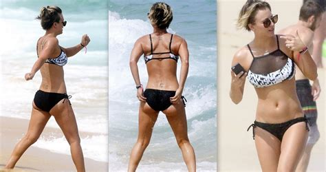 johnny galecki swimsuit 8 pictures of kaley cuoco having fun at the beach sporting