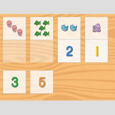 Number Pictures Matching Game  Game Educationcom