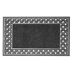Silver Door Mat by Door Mats The Home Depot Canada