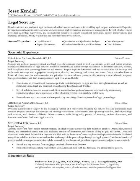 Personal Injury Assistant Resume by Assistant Resume Exle Secretarial Experience Skills