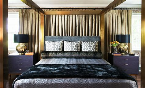 37037 gold canopy bed monday s eye 10 beautifully decorated rooms